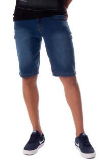 Bermuda Jeans Masculina V12 Azul - 40