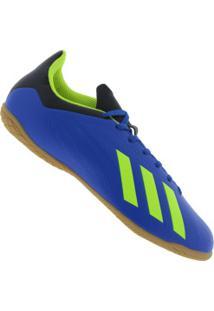 557add99fc0 Chuteira Futsal Adidas X Tango 18.4 Ic - Adulto - Azul Verde Cla