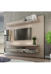 Painel Para Tv 220 Fendi Com Espelho Tb110E - Dalla Costa
