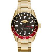 ce9d8a161d0 Off Premium. Relógio Armani Exchange Masculino Dourado