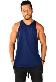 Regata Brohood Longline Basics Masculina - Masculino-Azul