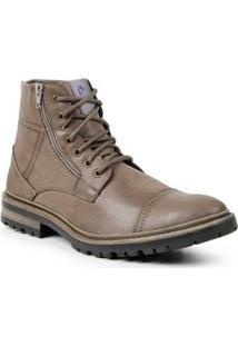 Bota Desert Boot Polo State Patter Masculina - Masculino-Marrom