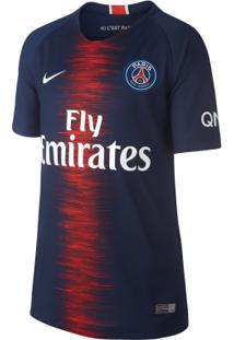 Camisa Nike Psg 1 2018/19 Torcedor Infantil