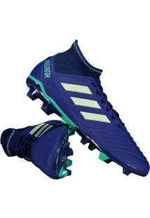 0e25d29e5da4e Fut Fanatics. Chuteira Adidas Predator 18.3 Fg Campo Azul