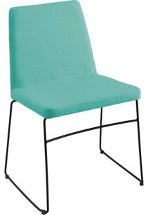 Cadeira Paris Linho Azul Turquesa