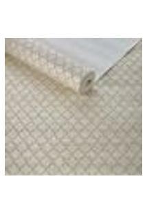 Papel De Parede Importado Tnt Textura Quatrefoil Bege Top