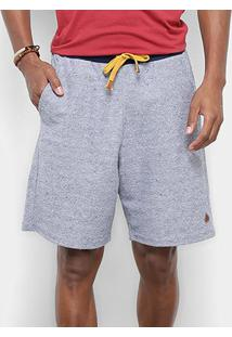Bermuda Moletom Sustentável Redley Masculina - Masculino-Jeans