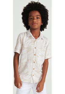 Camisa Infantil Menino Manga Curta Estampada Hering Kids