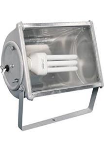 Refletor Dantalux Rpf13 Para Lâmpada Compacta 20 Ou 30W E27