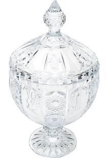 Bomboniere Belle- Cristal- 28Xã˜15,5Cm- Rojemacrojemac