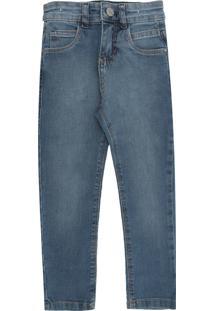 Calça Jeans Malwee Kids Slim Azul