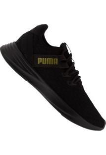 Tênis Puma Radiate Xt Pattern - Feminino - Preto/Ouro