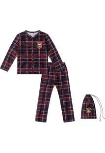 Pijama Vermelho Menino