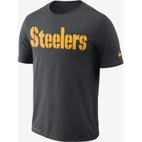 30ed67da63 Camiseta Nike Pittsburgh Steelers Essential Wordmark Masculina