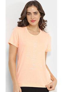 Camiseta Forum She Believied Feminina - Feminino-Laranja Escuro