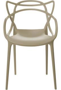 Cadeira Master Allegra Polipropileno Nude - 23148 Sun House