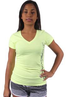 Camiseta Hurley Geo Upside Amarela