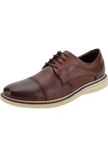 Sapato Masculino Metropolitan Bay Democrata - 273101 Caramelo 39