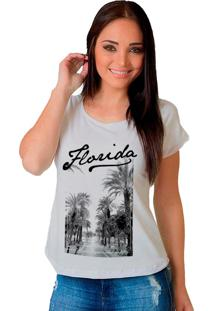 Camiseta Shop225 Florida Branco