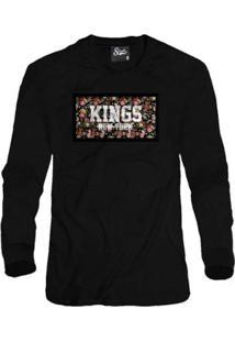 Casaco Moletom Skull Clothing Kings Ny Masculino - Masculino