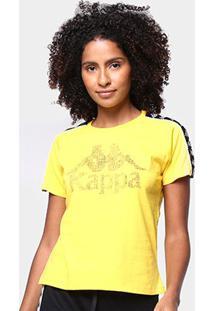 Camiseta Kappa Authentic Feminina - Feminino