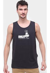Regata Oakley Pinuts Tropical Tank Masculina - Masculino-Preto