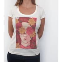 c9dbdc290f El Cabriton. Floral Blindness - Camiseta Clássica Feminina