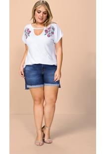 Plus Size Cinza Malwee feminino  bc201acca2494