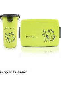 Kit Pote Com Copo Jacki Design Verde