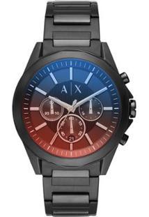 29136059e48 Relógio Armani Exchange Masculino Drexler - Ax2615 1Pn Ax2615 1Pn -  Masculino-Preto