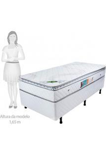 Cama Box Solteiro 68Cmx88Cmx188Cmx68Cm Molas Ensacadas Pillow Top Luck Spring Luckspuma Colchões Branco