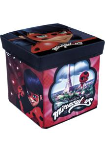 Banquinho Porta Objeto Ladybug - Zippy Toys