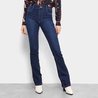 65d58b28d Calça Jeans Flare Sawary Básica Cintura Média Feminina - Feminino