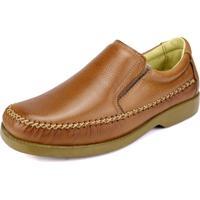 43c4b858d Sapato Social Cla Cle Anti Stress Elástico Bege