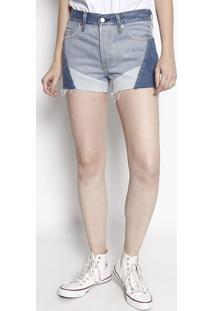 Short Jeans 501® Com Recortes - Azullevis