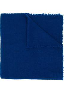 Faliero Sarti Cachecol De Tricô - Azul