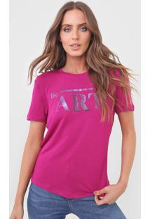 Camiseta Morena Rosa Be Art. Rosa