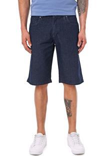 Bermuda Jeans Volcom Reta Vorta Azul