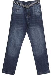 Calça Popstar Semi Reta Jeans