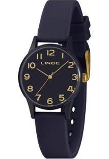 Relógio Lince Feminino Styles Analógico - Feminino-Azul