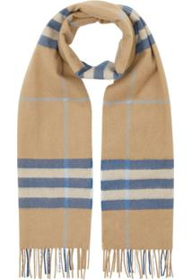 Burberry Cachecol The Classic Check - Neutro