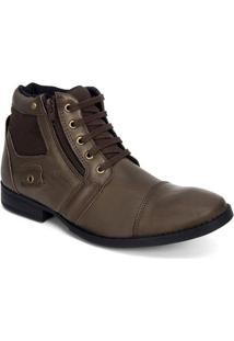 07741f82c Santa Fé Calçados. Sapato Abotinado Masculino ...