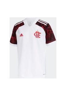 Camisa Adidas Flamengo 2 Infantil - Branco