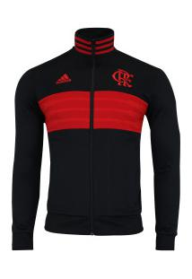 8716aa8d570f3 Jaqueta Do Flamengo 3S 2018 Adidas - Masculina - Preto