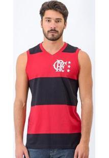 Camiseta Regata Flamengo Retrô Libertadores - Masculino