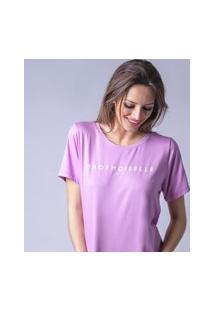 T-Shirt Starbox Visco Mademoiselle Rosa
