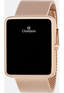 Relógio Unissex Champion Ch40080P Led Digital 3Atm