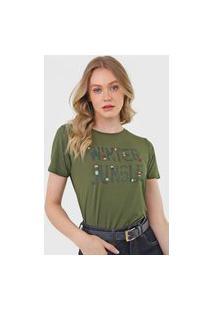 Camiseta Mob Winter Jungle Verde
