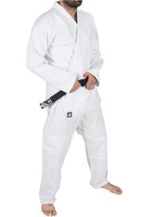 Kimono Jiu Jitsu Bjj Adidas Challenge - Unissex-Branco