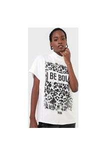 Camiseta Triton Be Bold Off-White